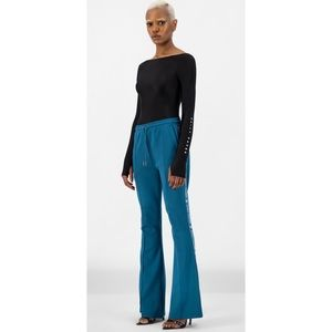 Daily Paper Etape Flare Pants in Ink Blue, Size M
